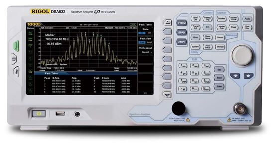 Rigol DSA 832 3 GHz Spectrum Analyzer
