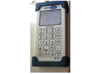 Comm Connect 3028 Site ONe Cable and Antenna Analyser